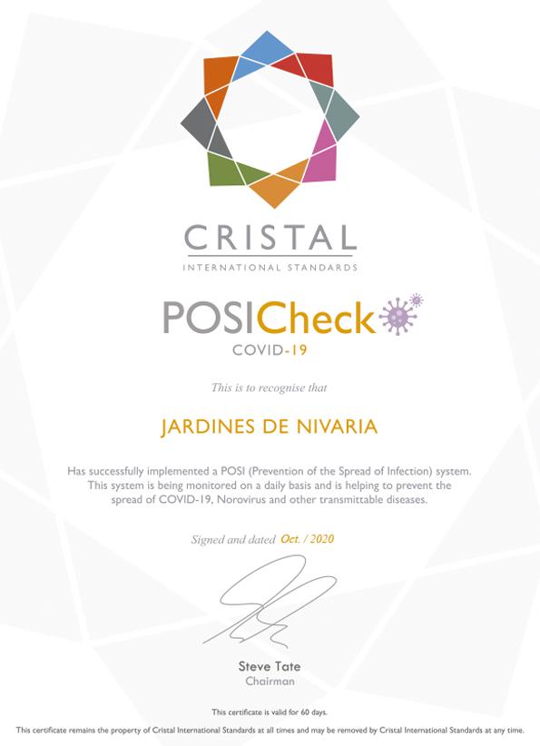 Cristal - POSI Adrian Hoteles Jardines de Nivaria - Oct 2020