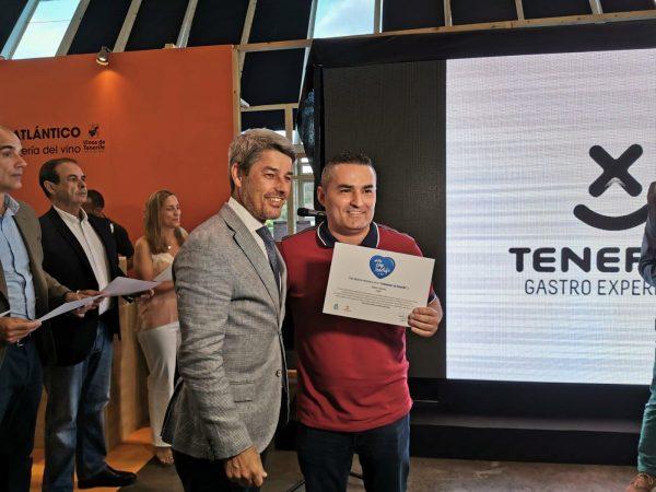 Rubén Cabrera Embajador Gastronómico de Tenerife