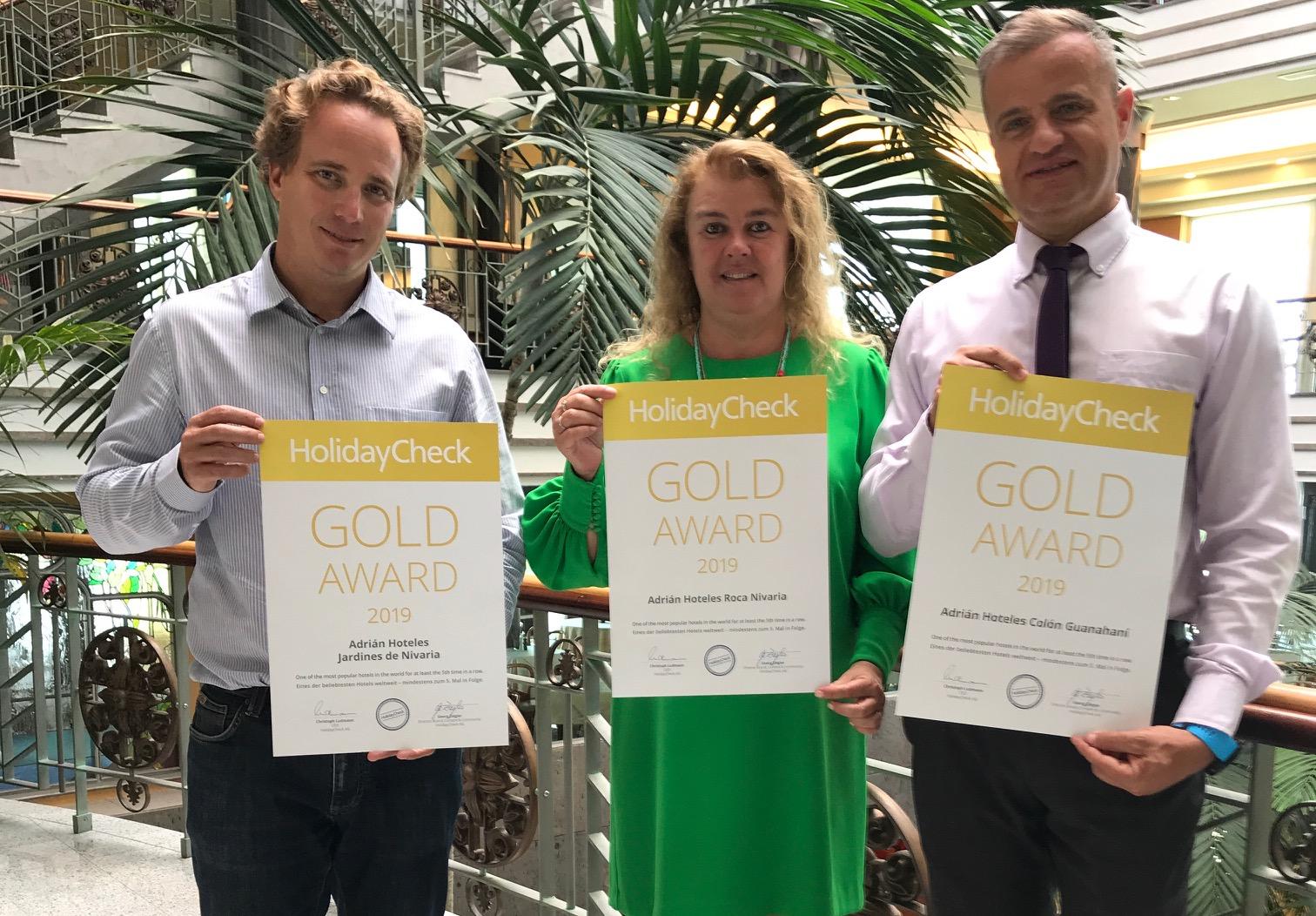 holidaycheck gold award 2019 adrian hoteles horizontal